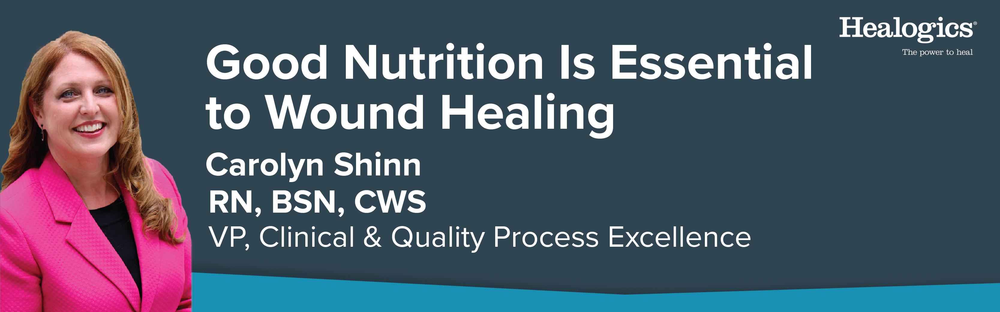 Carolynn Good Nutrition is Essential_Blog Banner